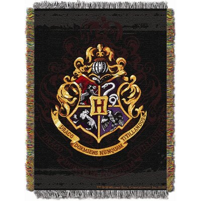 Northwest Co. Entertainment Harry Potter Hogwarts Décor Tapestry Throw