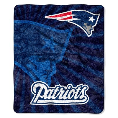 NFL New England Patriots Sherpa Strobe Throw by Northwest Co.