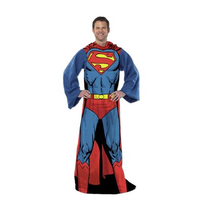 Superman Being Superman Fleece Throw by Northwest Co.