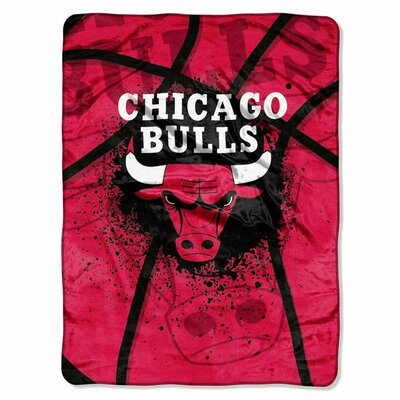 NBA Chicago Bulls Plush Throw by Northwest Co.