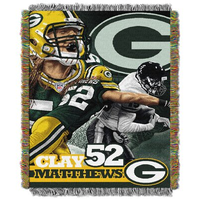 Official NFL Style 051 Clay Matthews Players by Northwest Co.