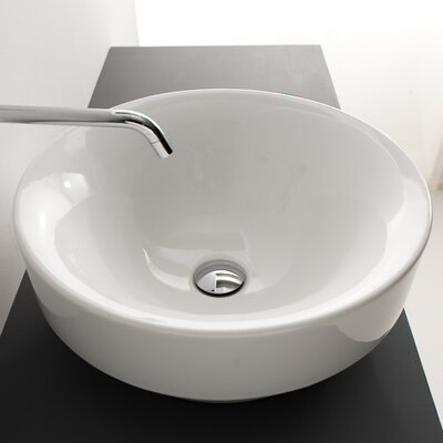 Vessel/ Drop-in Bathroom Sink by WS Bath Collections