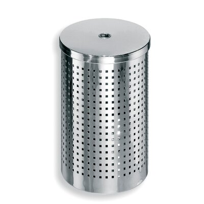 Complements Waste Basket with Lid by WS Bath Collections
