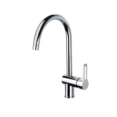 Fonte Ringo One Handle Single Hole Kitchen Faucet by WS Bath Collections