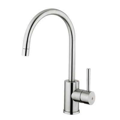 Fonte Steel One Handle Single Hole Kitchen Faucet by WS Bath Collections
