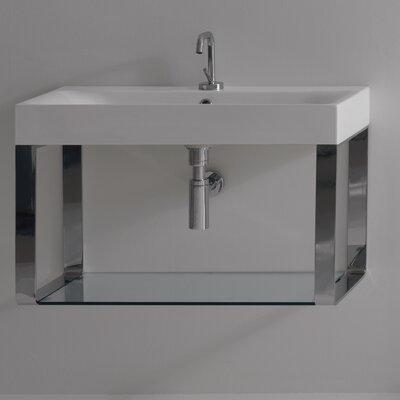 WS Bath Collections Kerasan Cento Wall Mounted Bathroom Sink