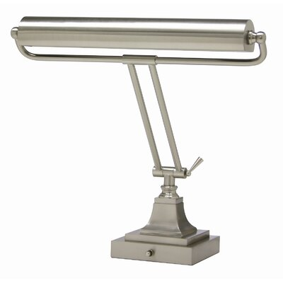 """House of Troy Square Base 16"""" H Desk Table Lamp with Novelty Shade"""