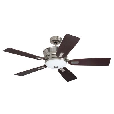 """52"""" Transitional Highgrove 5 Blade Ceiling Fan Product Photo"""