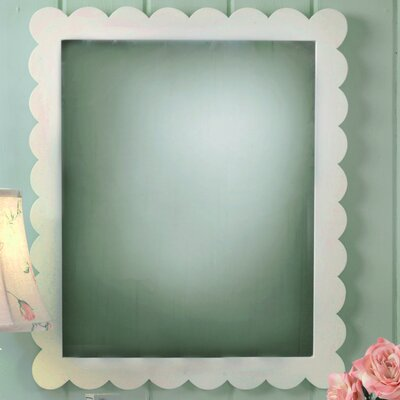 New Arrivals Scallop Framed Mirror