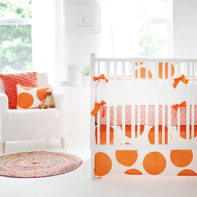 Spot On 4 Piece Crib Bedding Set by New Arrivals