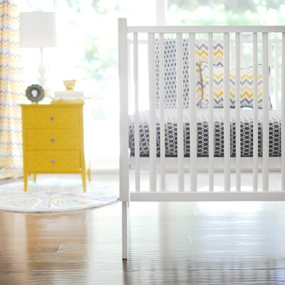 Mellow Yellow 2 Piece Crib Bedding Set by New Arrivals