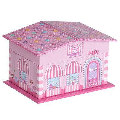 Lily Girl's Musical Ballerina Jewelry Box by Mele & Co.