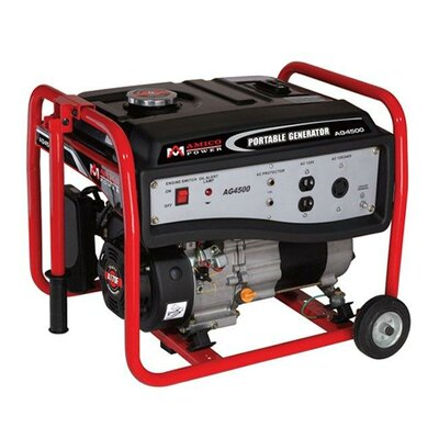 Amico Power Corp 3,500 Watt Gasoline Generator with Wheel Kit