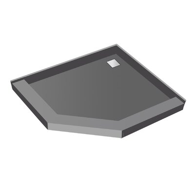 Neo Angle Square Shower Pan Product Photo