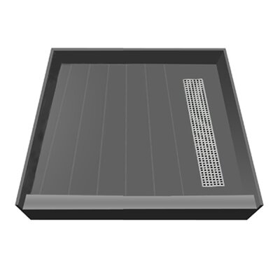 Plank Pitch Shower Base Product Photo