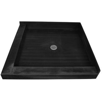 Double Curb Square Shower Base Product Photo