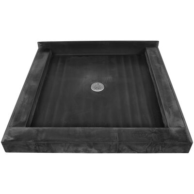 Triple Curb Square Shower Base Product Photo