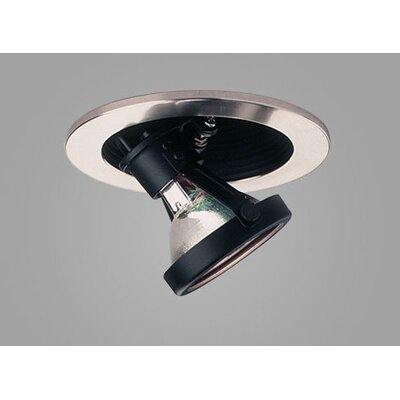 "Jewel 3.6"" Adjustable Wallwash Downlight Trim with Regressed Baffle Product Photo"