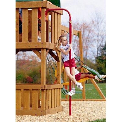 Playtime Swing Sets Fireman's Pole
