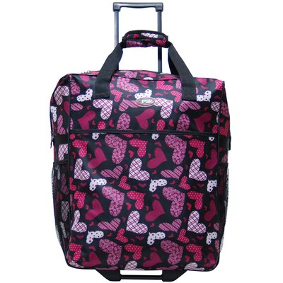 Big Easy Shopping Tote in Pink Hearts by CalPak