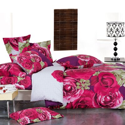 Le Vele Wish Full / Queen 4 Piece Duvet Cover Set