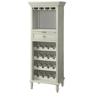 Crestview Collection Coventry 1 Drawer Tall Wine Cabinet