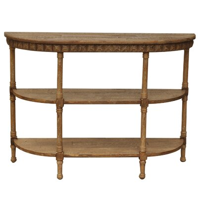 Cheyenne Demilune Console Table by Crestview