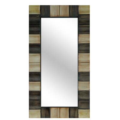 Crestview Collection Resin Checkerboard Wall Mirror