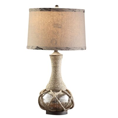 """Crestview Collection Freeport 30"""" H Table Lamp with Drum Shade"""