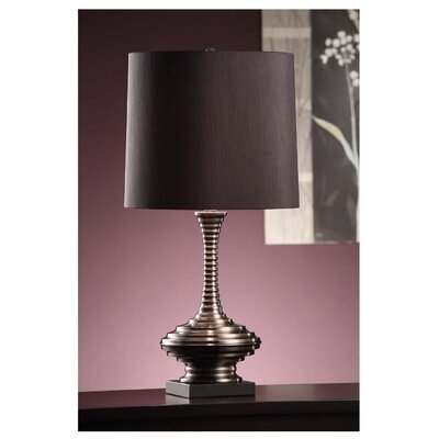 "Crestview Collection Mariela 27.5"" H Table Lamp with Drum Shade"