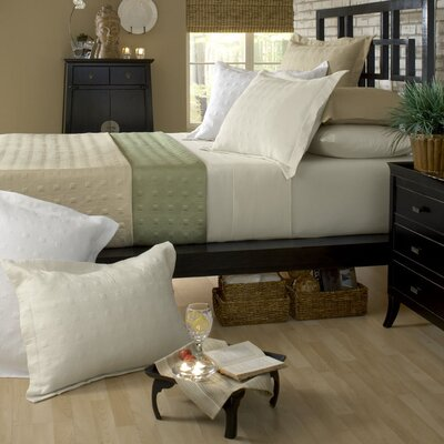 Standard Bamboo Quilted Reversible Coverlet by Belle Epoque