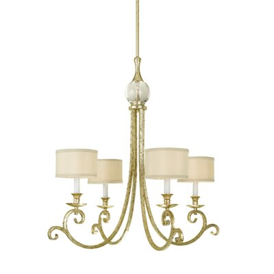 Lucy 4 Light Chandelier Product Photo