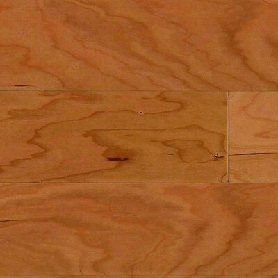 """Columbia Flooring Intuition with Uniclic 4"""" Engineered Cherry Hardwood Flooring in Natural"""