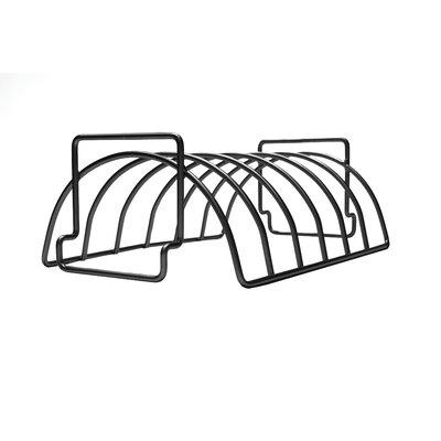 Charcoal Companion Non-Stick Reversible Roasting / Rib Rack