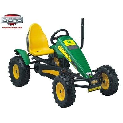 John Deere Automatic Freewheel Pedal Tractor by Berg Toys
