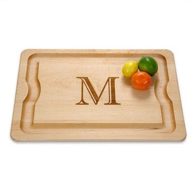 """J.K. Adams BBQ Cutting Board 20"""" x 14"""" Monogrammed"""