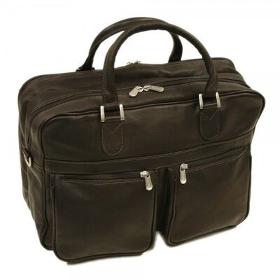 Laptop Leather Briefcase by Piel