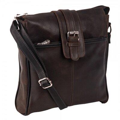 Slim Vintage Shoulder Bag by Piel