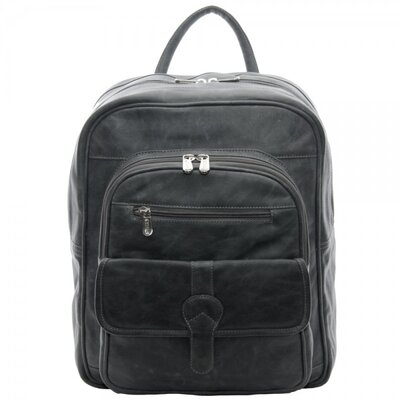 Buckle Flap Backpack by Piel