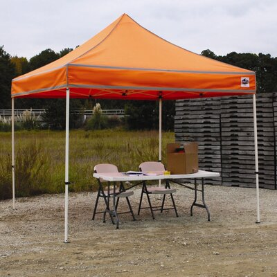 Festival 10 Ft. W x 7 Ft. D Canopy by King Canopy