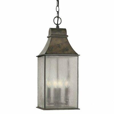 World Imports 4 Light Outdoor Hanging Lantern