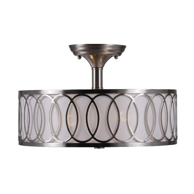 Venn 2 Light Semi Flush Mount Product Photo