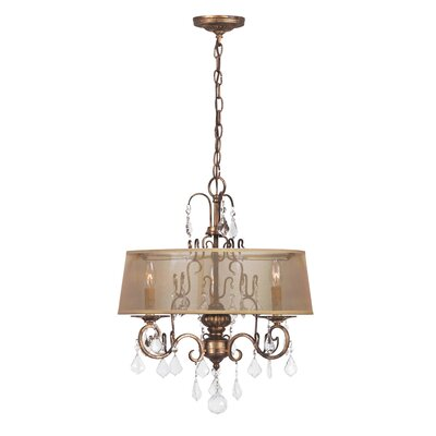 Belle Marrie 3 Light Crystal Chandelier Product Photo