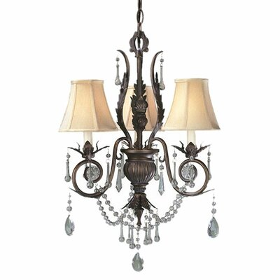 Berkeley Square 3 Light Chandelier Product Photo