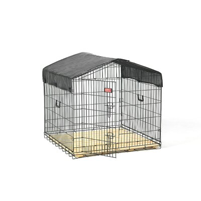 Jewett Cameron Lucky Dog Travel Steel Yard Kennel