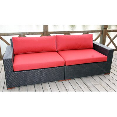 Pasadina Deep Seating Sofa with Cushions by Bellini