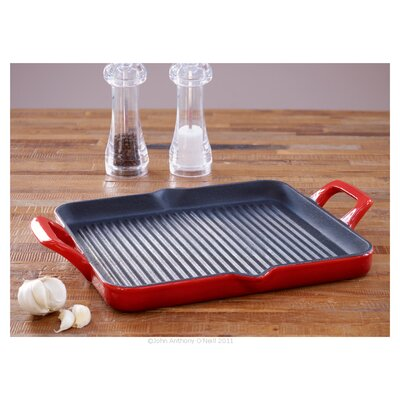 La cuisine cookware 26cm grill pan reviews wayfair uk for Art and cuisine cookware reviews