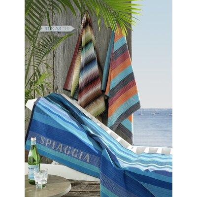 Kassatex Fine Linens Spiaggia Anti-Sand Ombre Beach Towel