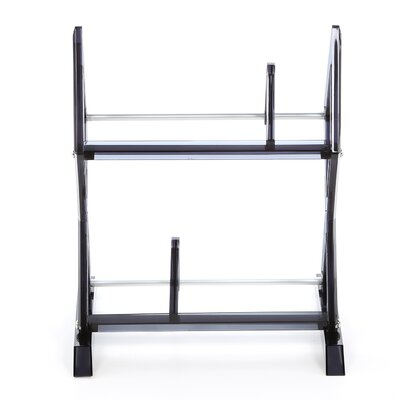 Atlantic Mitsu 2 Tier Multimedia Tabletop Storage Rack