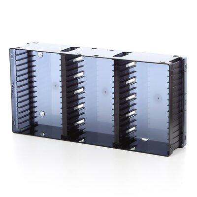 Disc Module 21 DVD/45 CD Multimedia Tabletop Storage Rack by Atlantic